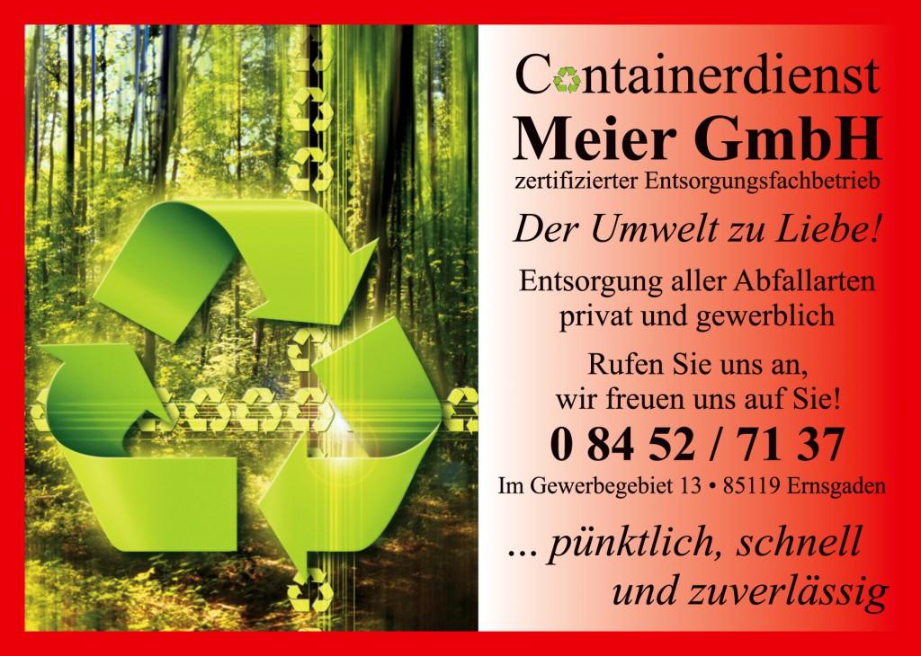 Logo Containerdienst Meier